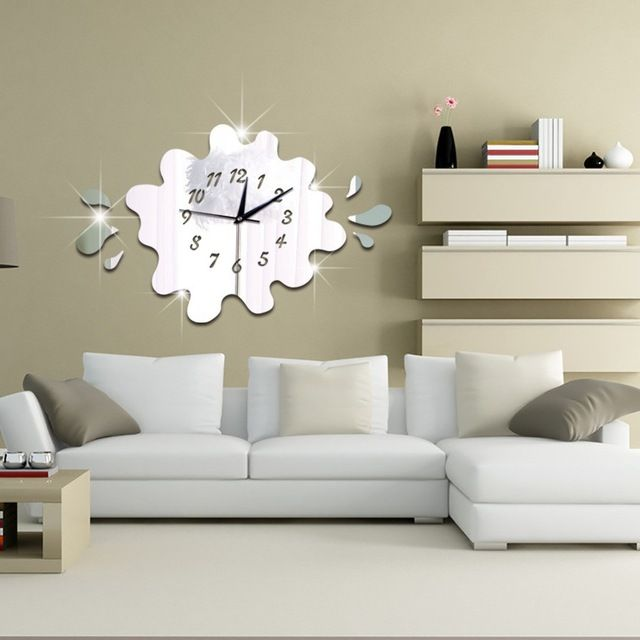les 25 meilleures idées de la catégorie horloge murale miroir sur