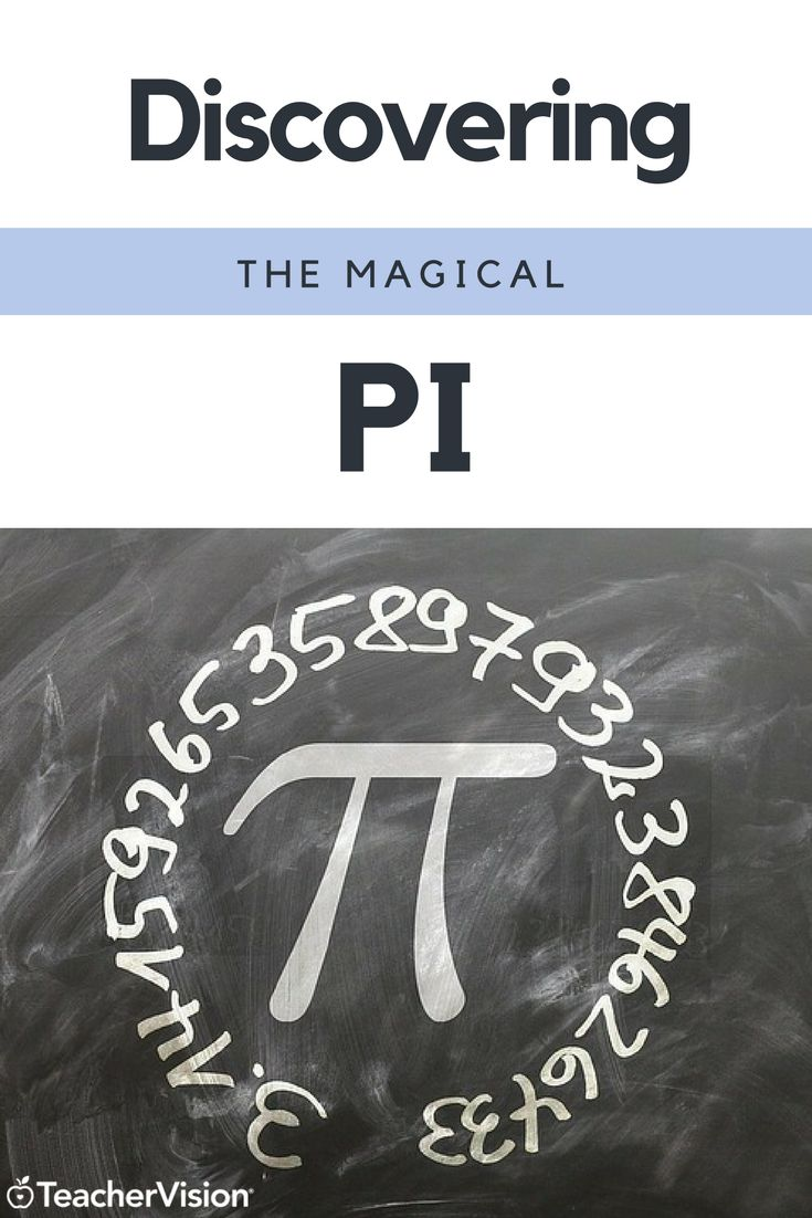 Discovering the Magical Pi | In this lesson, students will use data on the circumference and diameter of various objects to calculate pi. (Grades 6-8)