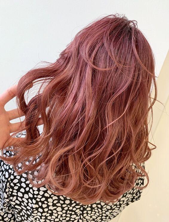 2018年ヒットスタイル Keitaブログ 髪色 オレンジ ヘアスタイリング オレンジ ヘアカラー