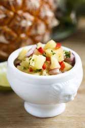 photo Salade de mangue et d'ananas ( essayer)