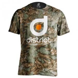 Camiseta District Camo Talla L
