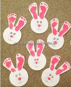 23 best easter bunny crafts images on pinterest kindergarten