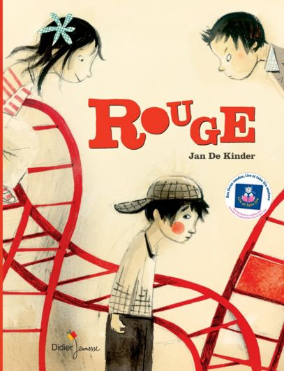 ROUGE, un livre pour aborder un sujet peu évident : le harcèlement à l'école.