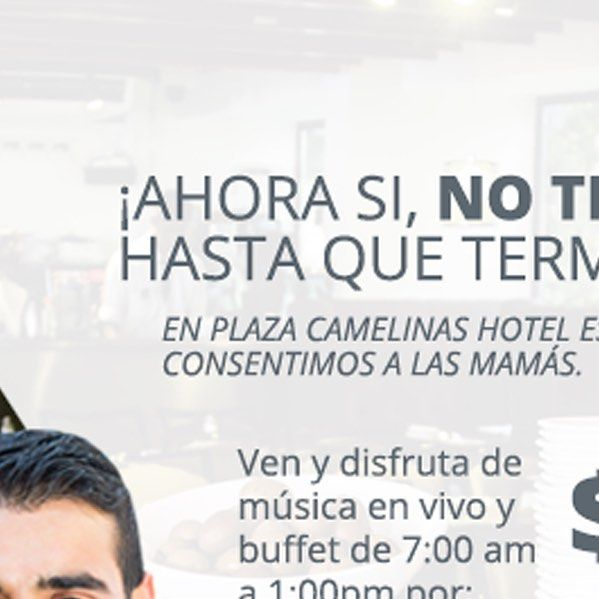 Ven a #PlazaCamelinas #Hotel #Querétaro  y no pierdas la oportunidad de regalarle a mamá un día delicioso. #Yummy #Mmmm  by plazacamelinash