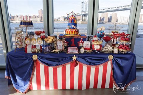 Circus Candy Buffet