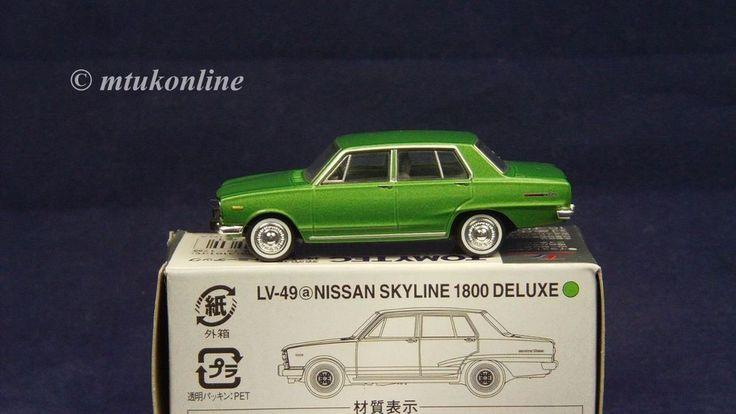 TOMICA LV49a NISSAN SKYLINE C10 1800 4DR DX 1968 | 1/64 | GREEN | TOMYTEC 2007