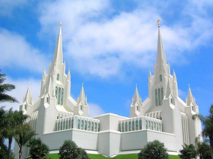 Калифорнийский храм мормонов, США
