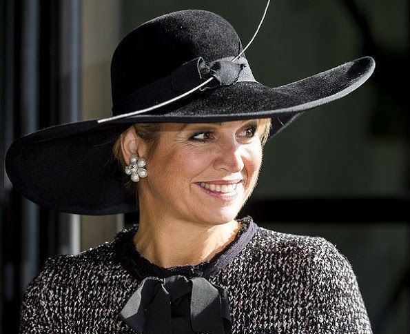 Queen Maxima attended the opening of the European Congress on Nursing Care for the Elderly