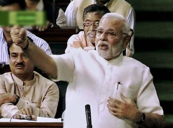 Narendra Modi Responds to President's Speech in Lok Sabha