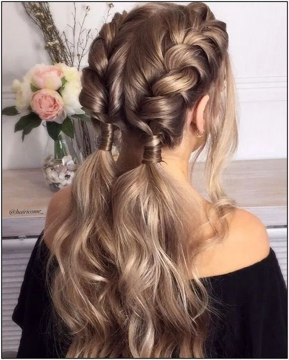 42 Amazing Braided Hairstyles for Long Hair for Every Occasion : Page 2 of 42 : Creative Vision Design