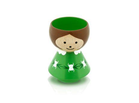 Girl green