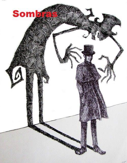 sombras las sombras habitan en todos nosotros lo que nos vuelve imperfectos y a la vez