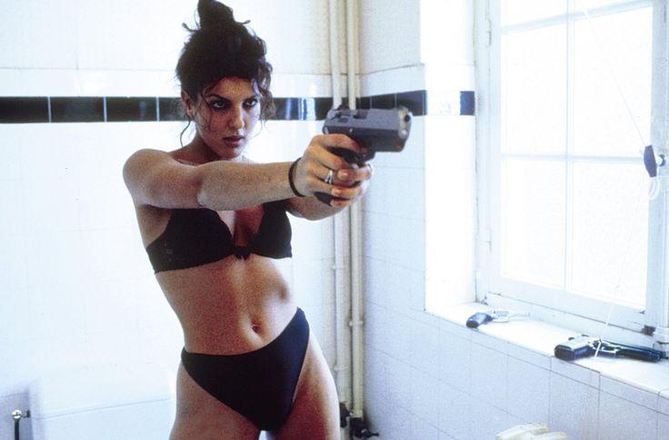 """Scene from the French killer film """"Baise Moi"""""""