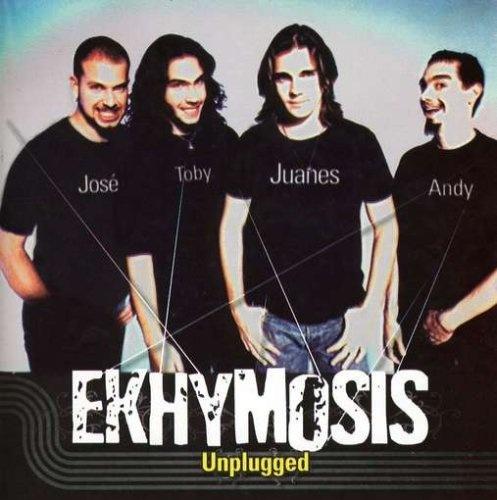Juan Esteban Aristizábal Vásquez, conocido ahora por JUANES, salió de la banda rockera EKHYMOSIS. Ha ganado tres Grammy Latino.