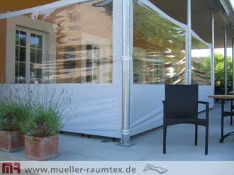 Windschutz Mit Sonnensegel Garten Balkon Terrasse Windschutz