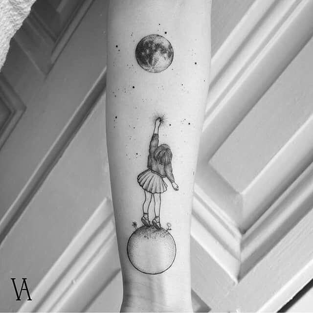 High quality minimalist tattoos from the Surrealistin Violeta Arus #high quality #minimalist #surrealistin #tattoos