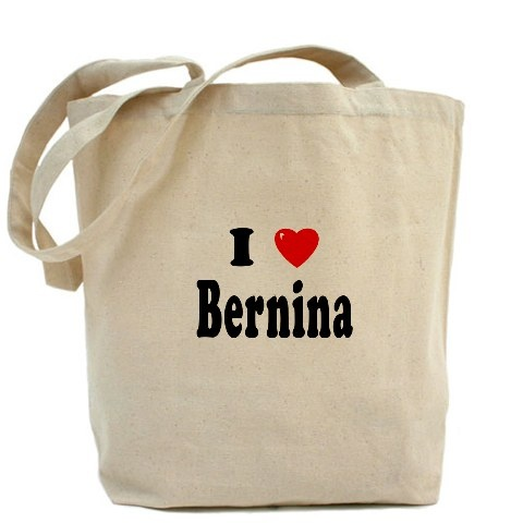 #BERNINA tote bag