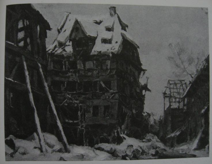 Albrecht Düreru0027s House in Nuremberg, 1945 - Kukryniksy Albrecht - küchen quelle nürnberg öffnungszeiten