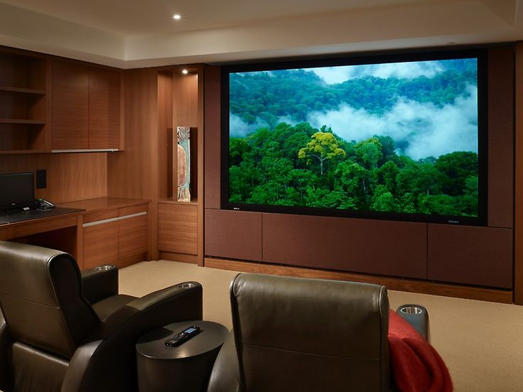 see more project details for four seasons residence by nb design group inc including photos home theater - Home Theater Design Group