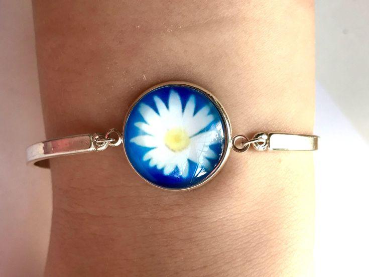 A personal favourite from my Etsy shop https://www.etsy.com/uk/listing/569122404/daisy-bracelet-daisy-jewellery-daisy