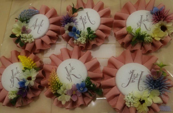 「DIY*お花ロゼット(ほぼ)完成♡♡♡」の画像|はるはなよめ |Ameba (アメーバ)