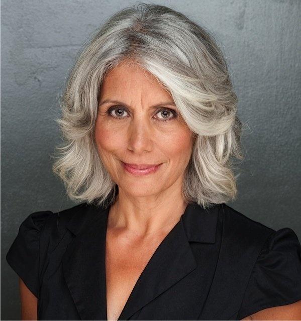 Gray hair don't care. Salt and pepper gray hair. Grey hair. Silver hair. White…
