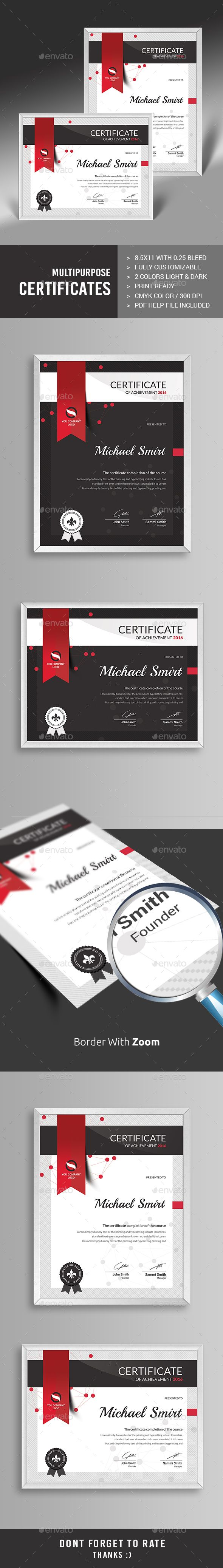 Multipurpose Certificates Template PSD. Download here: http://graphicriver.net/item/multipurpose-certificates/13459447?ref=ksioks