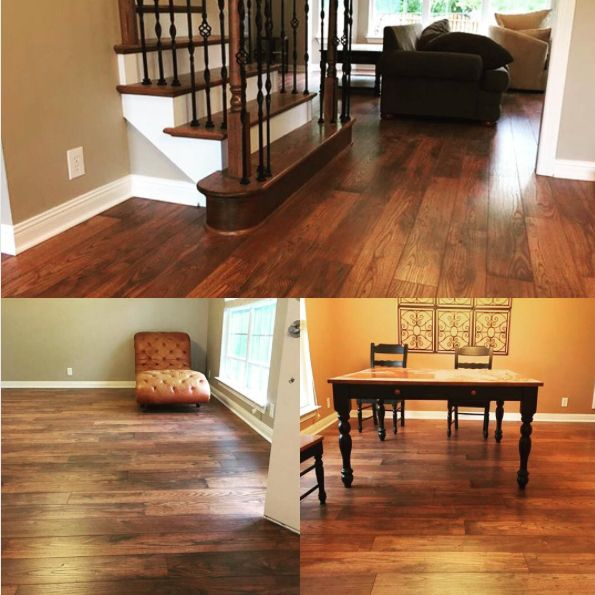 Restoration Chestnut Hill Laminate Adds The Rich Look Of Wood To This Tennessee Home In An Flooring Companiesthanks