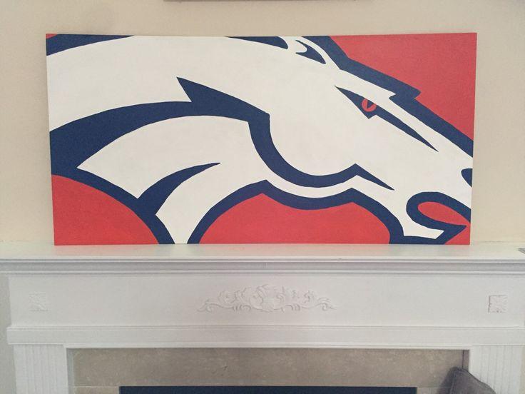 Broncos Wall Art 38 best denver broncos images on pinterest | denver broncos