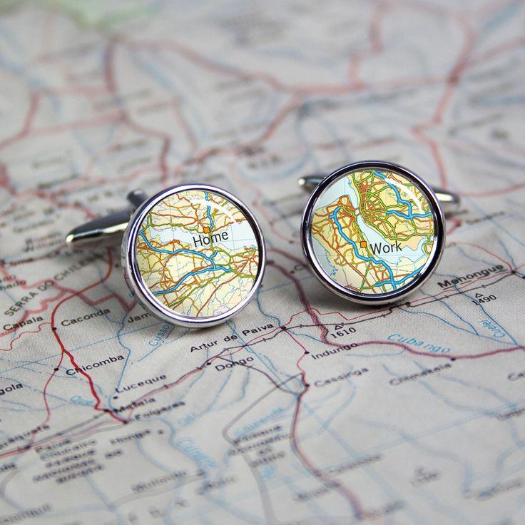 A great gift for a fashionable gentleman. Personalised County Style Cufflinks - yourgifthouse