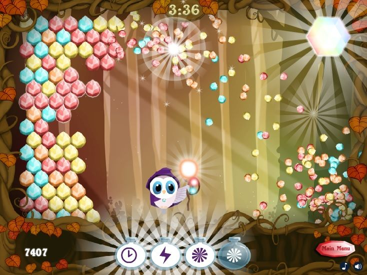 Brilliant Crystal Well, this is probably one of the most entertaining zuma games of all times because it is so different and so complex that you can't even get bored. Tags: #Puzzle #Match #Shooting