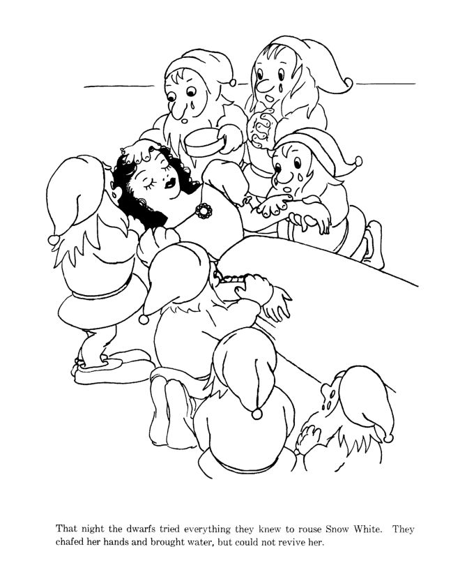 29 best images about snow white on pinterest wicked for Coloring pages for snow white and the seven dwarfs