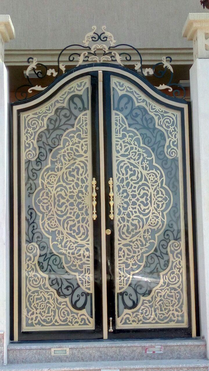 Pin By ابواب درج حديد القصور الذهبية On ابواب خارجية Door Gate Design Door Design Images Iron Door Design
