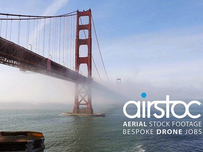 While drones might be easy for filmmakers to capture aerial shots, a new startup is taking up things one more step further. Airstoc would be exclusive