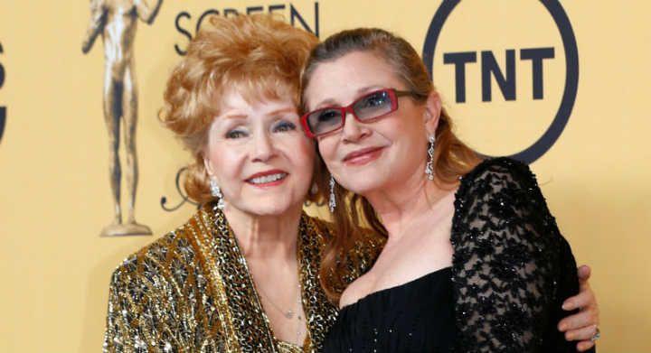 Debbie Reynolds mãe de Carrie Fisher morre um dia após a filha
