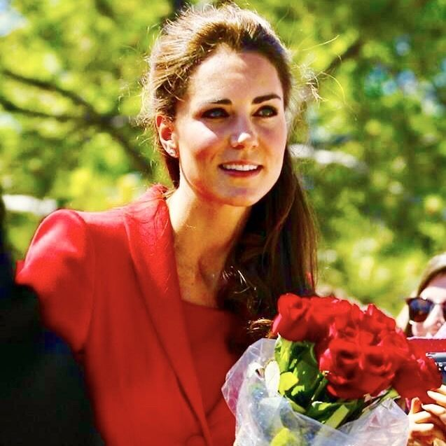 monmon and the royals — Duchess of Cambridge in Red ||  Canada tour 2011