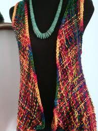 tejido telar triangular