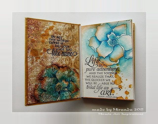 workshop Art Specially event 2015.........lovely notebooks