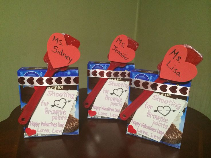 Teachers valentines 39 shooting for brownie points for Arts and crafts for brownies