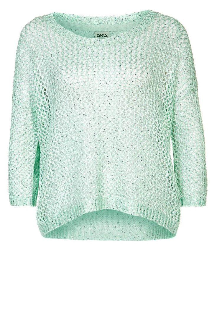 ONLY - PALLI - Pullover - vert