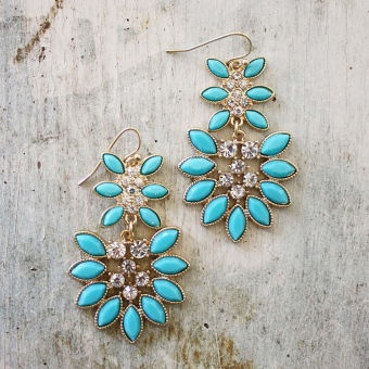 Mineral Springs Earrings, Sweet Affordable Jewelry
