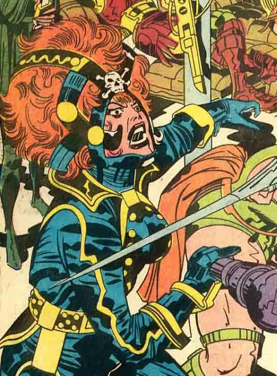 Mindless Ones » Blog Archive » Jack Kirby's greatest helmets part 2