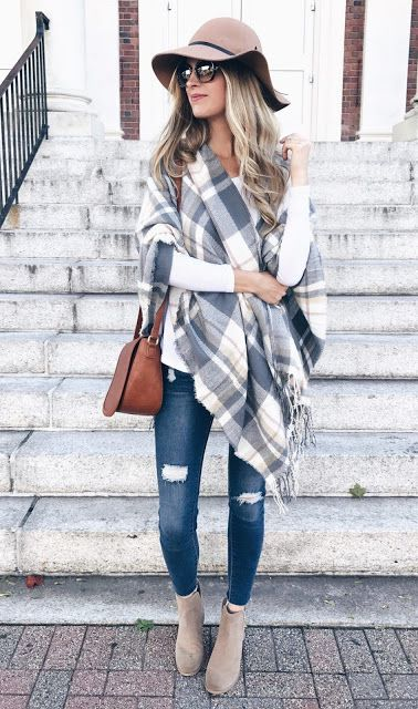 15 Cute Fall Outfit Ideas of the Week, casual fall, fall fashion 1