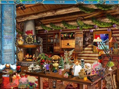 Christmasville hidden object game free