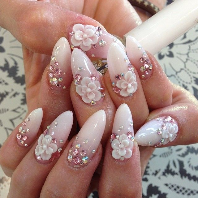 Almond nails | Nails | Pinterest | Almond nails, Almonds ...