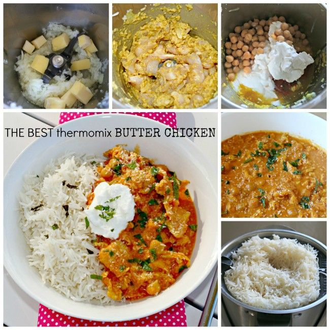 Mrs D plus 3 | The BEST thermomix butter chicken | http://www.mrsdplus3.com