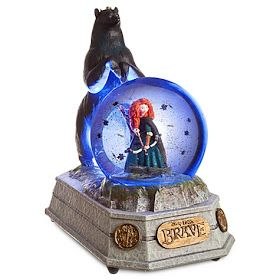 Disney Snowglobes Collectors Guide: Brave Princess Merida Snowglobe