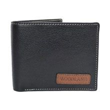 A good gift for boyfriend: Woodland Black Leather Wallet