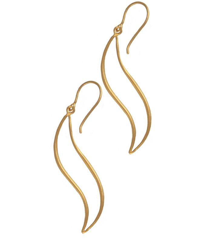 Modern Icarian Feather Earrings