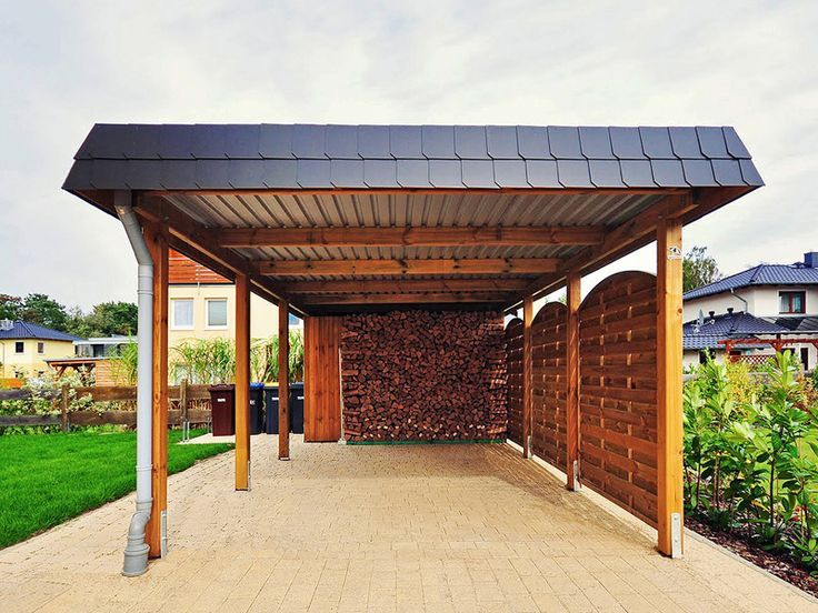 best 25 carport aus holz ideas on pinterest holz carports carport holz and carport bauen. Black Bedroom Furniture Sets. Home Design Ideas